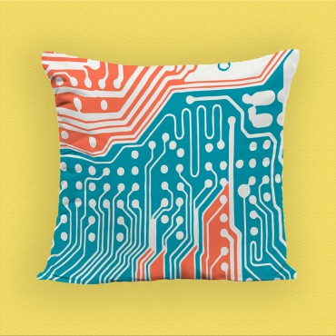 "Coussin Erika ""Pop Collection"""