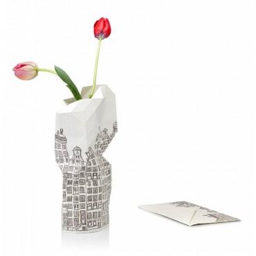 Décoration maison vase en papier City Canal House Amsterdam