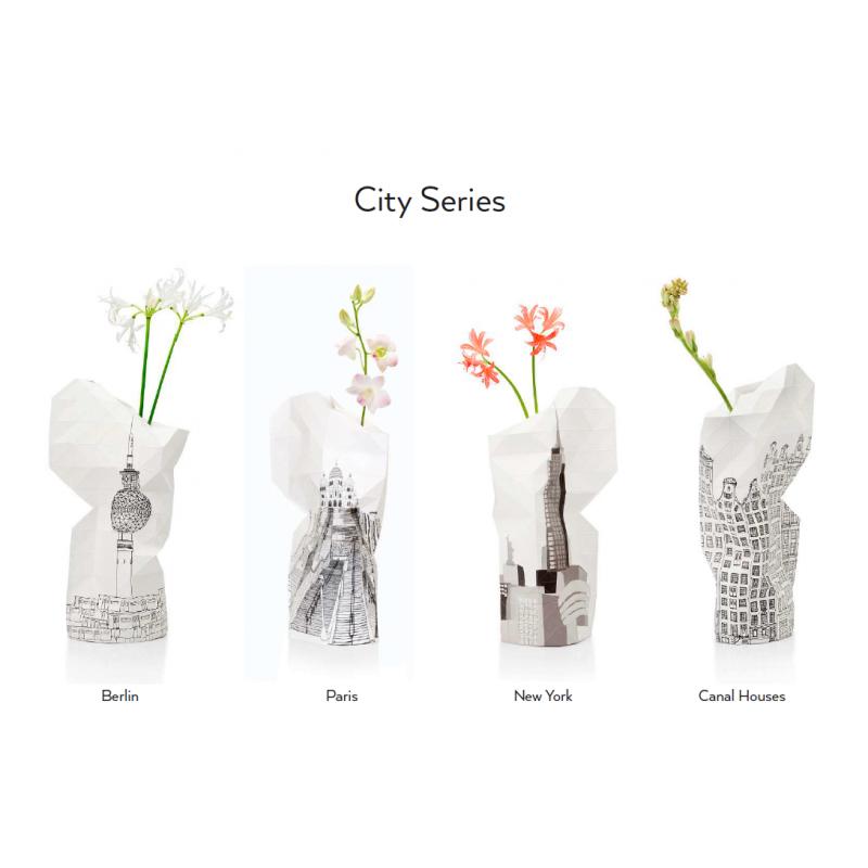 Boutique cadeau décoration maison vase soliflore City Series