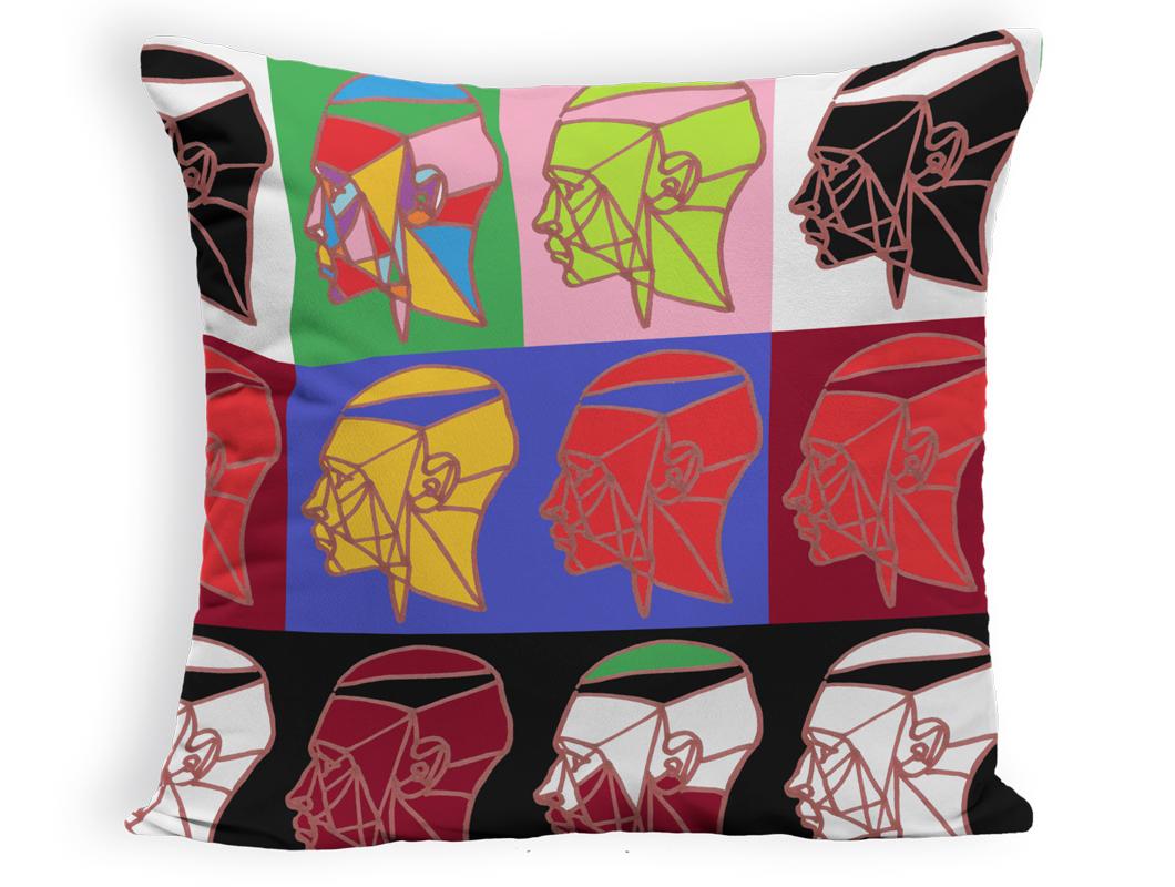coussin design Art numérique Adrian Pickett Yaiag