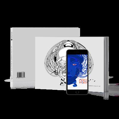 Artbook à réalité augmenté, idée cadeau ado, cadeau geek